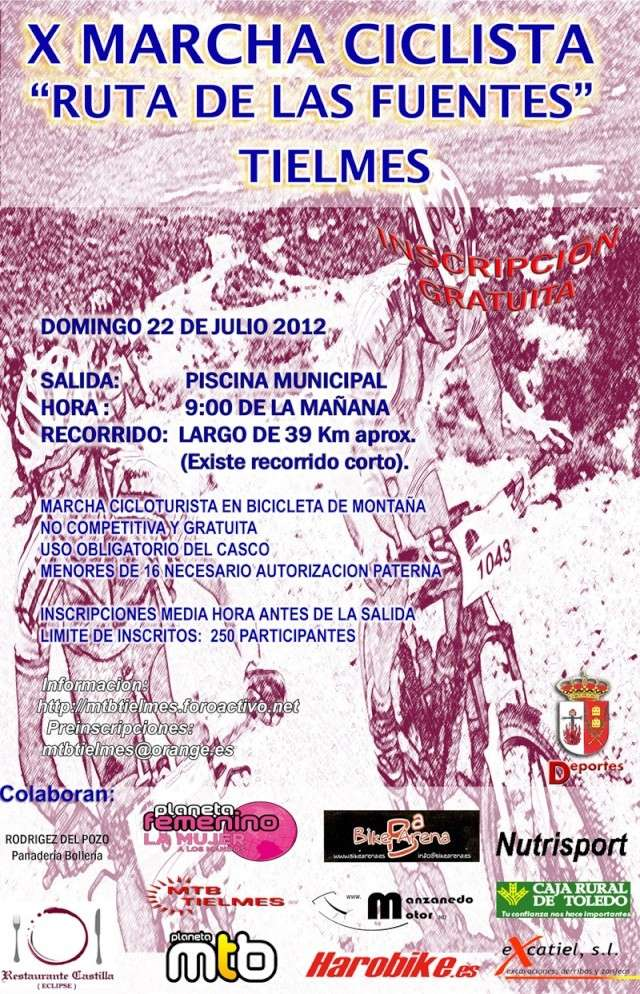 Ruta de las Fuentes 2012 Cartel18