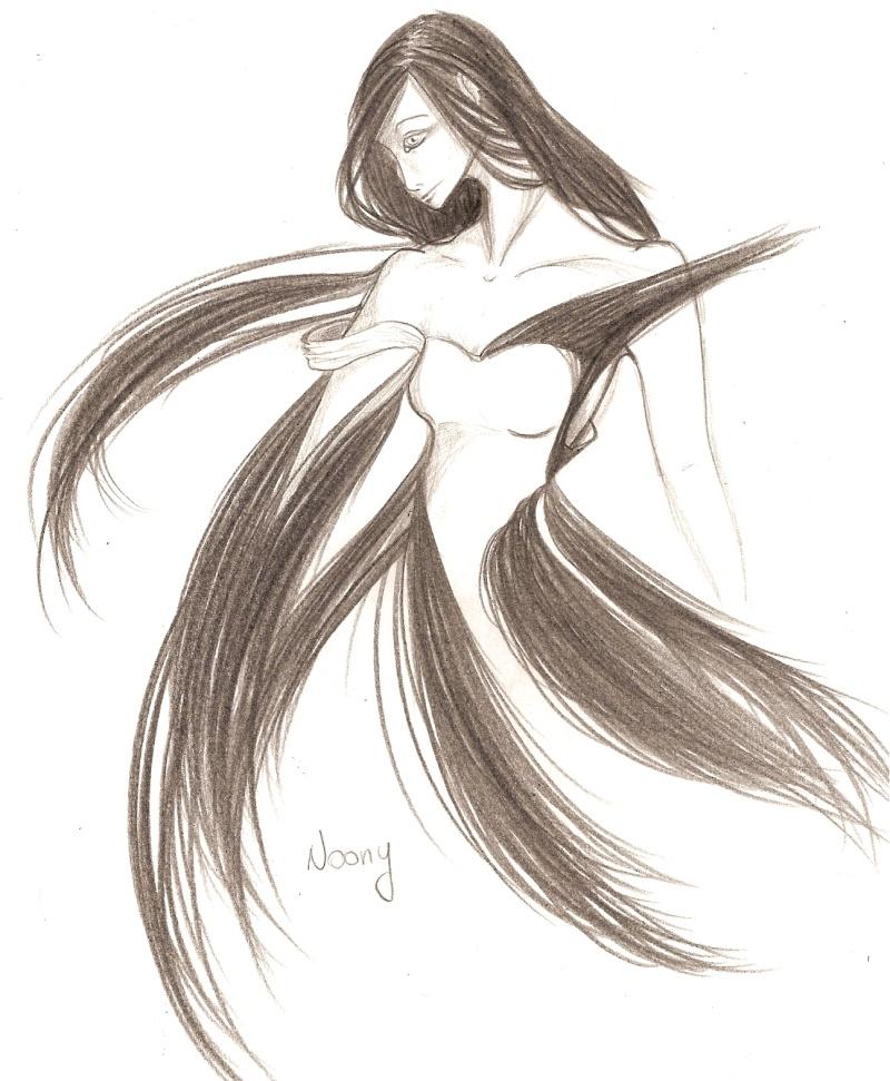 madame qui a décidé de se laisser pousser les cheveux. [noony4] Numar105