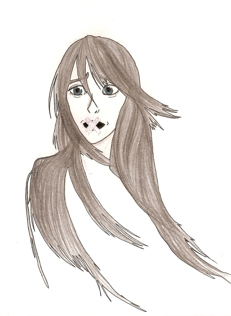 Ah! Une fille. Avec le cheveu facile .. (???) Numari15