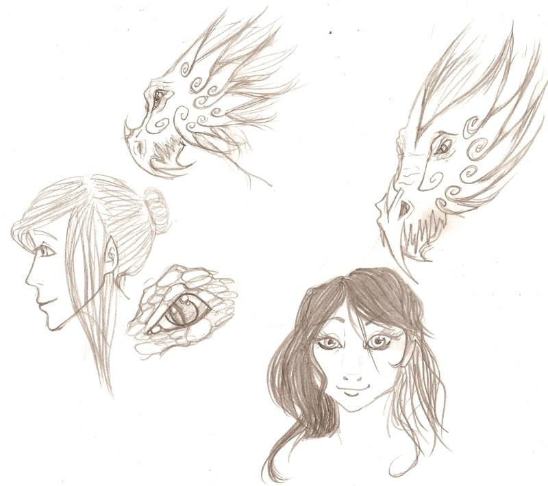 têtes (de dragons et de madames.) Numari74
