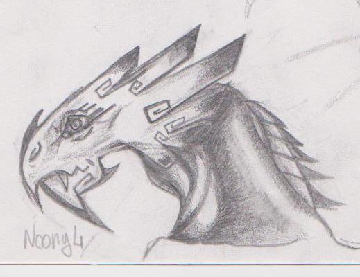 Dessin numéro 1 pour M. Astier. Nouveau style de dragon ^^ [noony4] Yop_0015