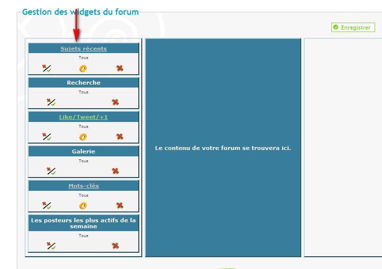Je souhaite insérer un Menu défilant sur toutes les pages du Forum Menude11