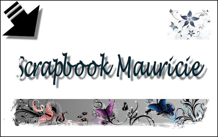 scrapbook mauricie