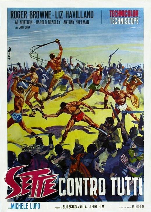 LES 7 GLADIATEURS REBELLES-SETTE CONTRO TUTTI-1965-Michele LUPO 7_glad11
