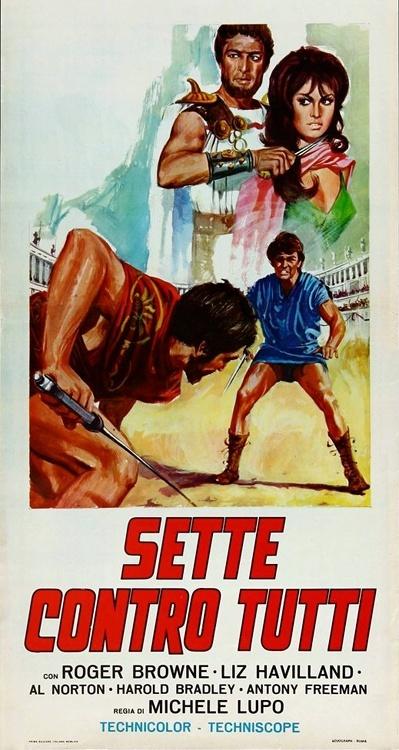 LES 7 GLADIATEURS REBELLES-SETTE CONTRO TUTTI-1965-Michele LUPO 7_glad12