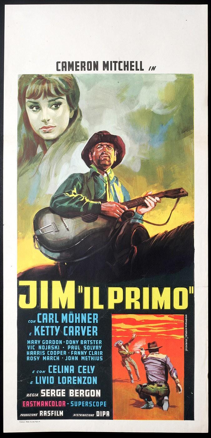 Le dernier pistolet ( Jim il Primo ) –1964- Sergio BERGONZELLI Jim_il11