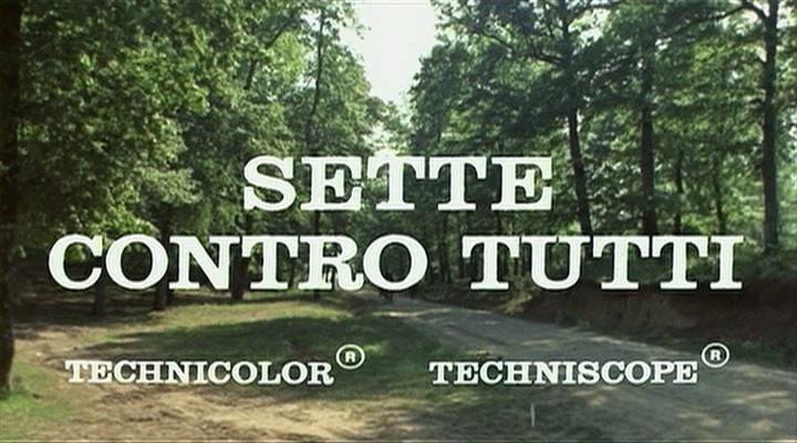 LES 7 GLADIATEURS REBELLES-SETTE CONTRO TUTTI-1965-Michele LUPO Vlcsna31