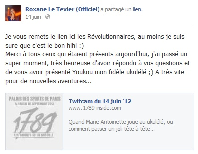 Messages de Roxane sur Facebook [MAJ 04.09] 1406_b10