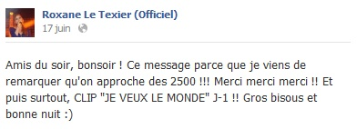 Messages de Roxane sur Facebook [MAJ 04.09] 1706_b10