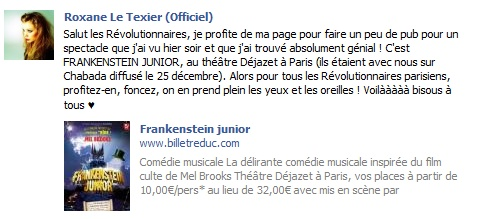 Messages de Roxane sur Facebook [MAJ 04.09] 22012_10
