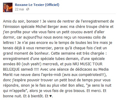 Messages de Roxane sur Facebook [MAJ 04.09] 2205_b10