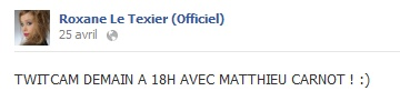 Messages de Roxane sur Facebook [MAJ 04.09] 2504_b10