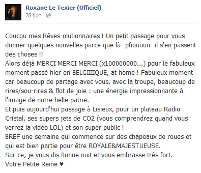 Messages de Roxane sur Facebook [MAJ 04.09] 2806_b10