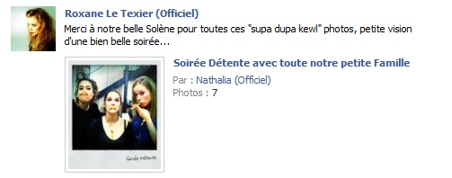 Messages de Roxane sur Facebook [MAJ 04.09] Fb162110