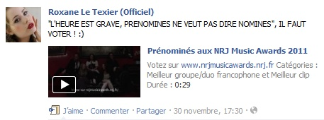 Messages de Roxane sur Facebook [MAJ 04.09] Messro14