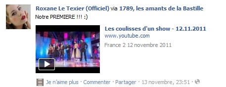 Messages de Roxane sur Facebook [MAJ 04.09] Stat1110