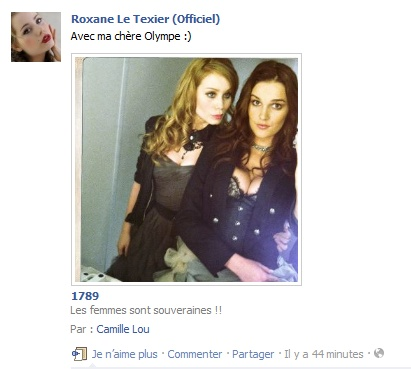 Messages de Roxane sur Facebook [MAJ 04.09] Stat1510