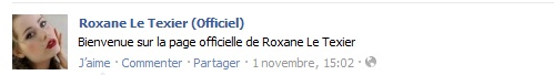 Messages de Roxane sur Facebook [MAJ 04.09] Stat1_10