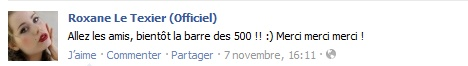 Messages de Roxane sur Facebook [MAJ 04.09] Stat7_10