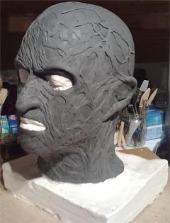 Création masque Freddy Krueger 1-16-110