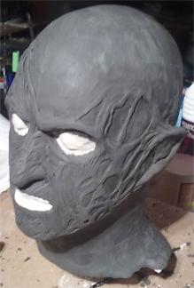 Création masque Freddy Krueger 110