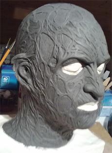 Création masque Freddy Krueger 112