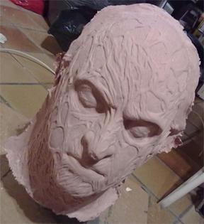 Création masque Freddy Krueger 1210