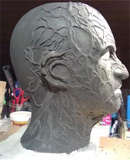Création masque Freddy Krueger 2-16-110