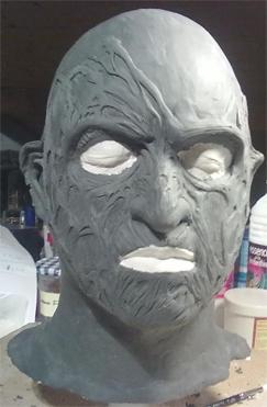 Création masque Freddy Krueger 211