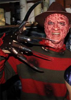 Création masque Freddy Krueger 2110