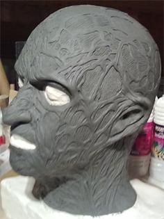 Création masque Freddy Krueger 212