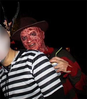 Création masque Freddy Krueger 2410