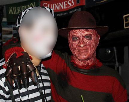 Création masque Freddy Krueger 2510