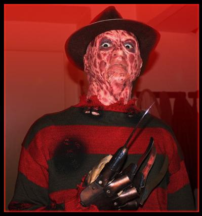 Création masque Freddy Krueger 2910