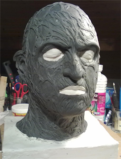 Création masque Freddy Krueger 3-16-110