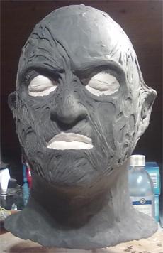 Création masque Freddy Krueger 310