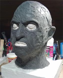 Création masque Freddy Krueger 4-16-110