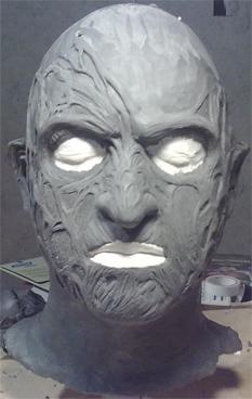 Création masque Freddy Krueger 410