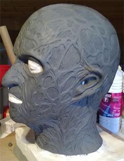 Création masque Freddy Krueger 411