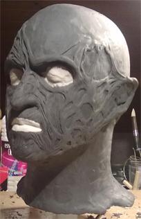 Création masque Freddy Krueger 510