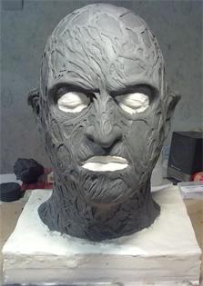Création masque Freddy Krueger 6-16-110