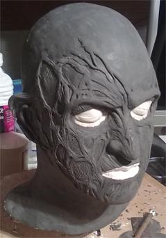 Création masque Freddy Krueger 610