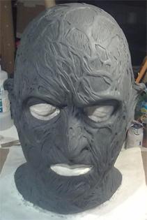 Création masque Freddy Krueger 810
