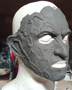 Création masque Freddy Krueger Profil11