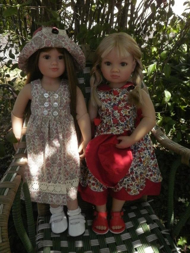 Louisa et Nikola habillées par Vanina P7052710