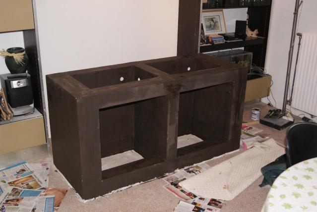 fabrication d 39 un meuble en b ton cellulaire pour bac polyfont. Black Bedroom Furniture Sets. Home Design Ideas