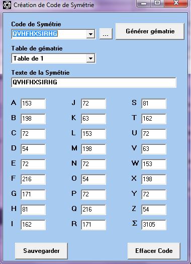 Le code miroir Tablej11