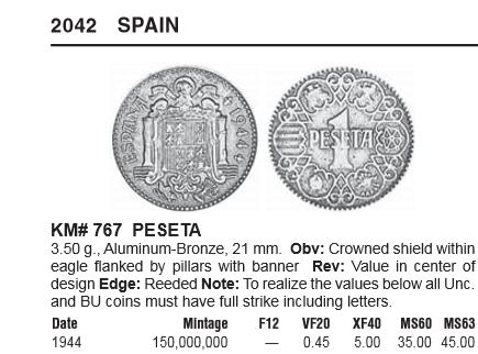1 Peseta de 1944. Estado Español Captur10