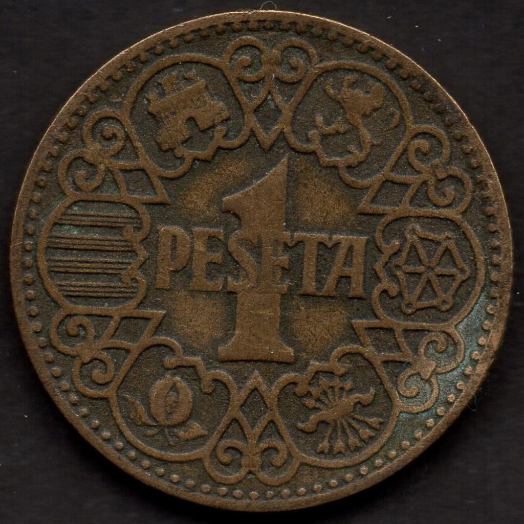 1 Peseta de 1944. Estado Español Img04810