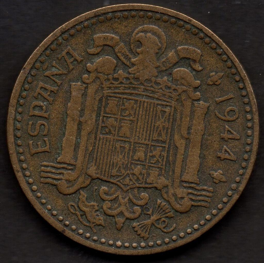 1 Peseta de 1944. Estado Español Img04910